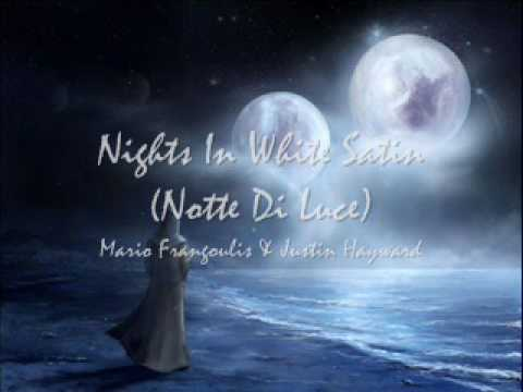 Luce Di Notte.Mario Frangoulis Justin Hayward Notte Di Luce Nights In White Satin