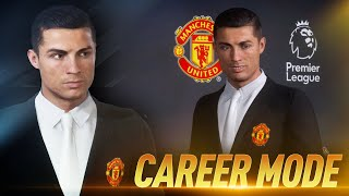 THE NEW MAN UTD MANAGER!!! CRISTIANO RONALDO FIFA 20 CAREER MODE #2