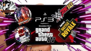 Télécharger PS3 émulateur Android dispositif GTA V fortnite Tekken 7 WWE 2K 18 GTA 4 ps3 émulateur vrai faux