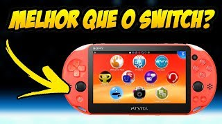 """Switch pra quê? Conheça o """"novo"""" PS VITA!"""