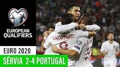 EURO 2020: Sérvia 2-4 Portugal