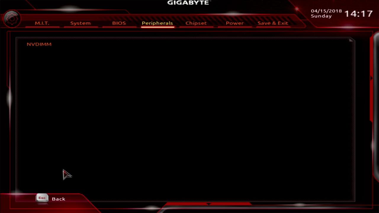 Gigabyte X470 Aorus Gaming 7 WiFi UEFI