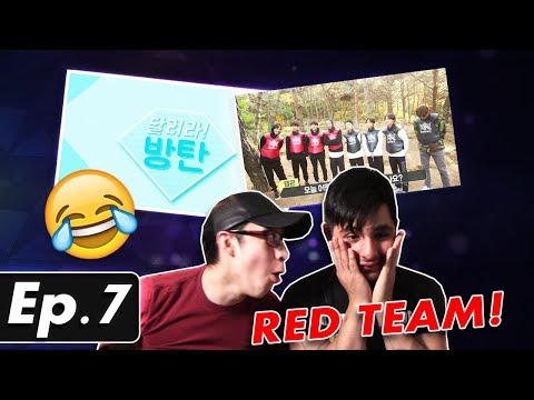 GUYS REACT TO BTS 'Run BTS' Ep. 7