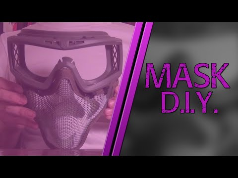 THE BEST ONE-PIECE AIRSOFT MASK | D.I.Y. TUTORIAL