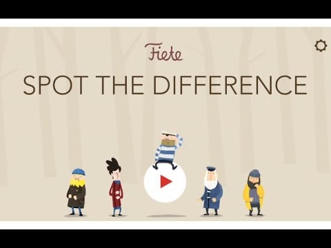 Fiete - Spot the Difference. Logic and Mental Game App for Kids