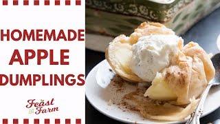 Homemade Apple Dumplings | Fall Baking Part 2