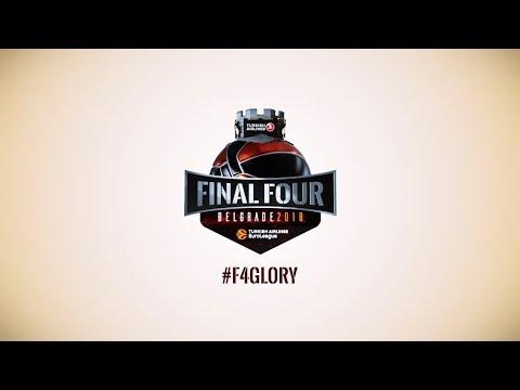 Logo for 2018 Final Four Belgrade unveiled
