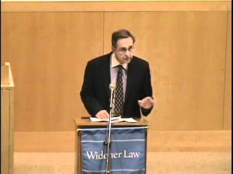 Widener Law Paul Starr delivers 5th annual Raynes McCarty Distinguished Lecture (PT. 1)