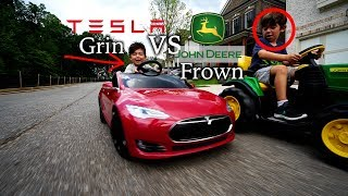 Founders Series Kids Tesla Model S: Race On!