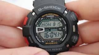 Casio G-SHOCK G-9000-1V [G-9000-1VER] - Інструкція, Як налаштувати від PresidentWatches.Ru