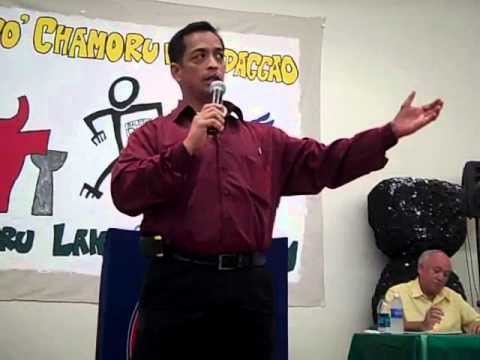 Frank Aguon on Brain Drain, Chamorro Forum 2010