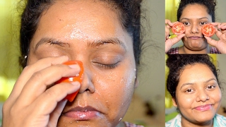 Tomato Facial At Home For Glowing,Spotless And Younger Looking Skin Instantly | Sweety Bawaria | | sweety bawaria