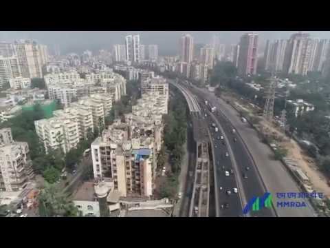 MUMBAI CITY DRONE VIDEO 2018