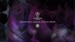 LIVE STREAMING | 2019/20 UEFA CHAMPIONS LEAGUE DRAW  ⚫🔵🔮