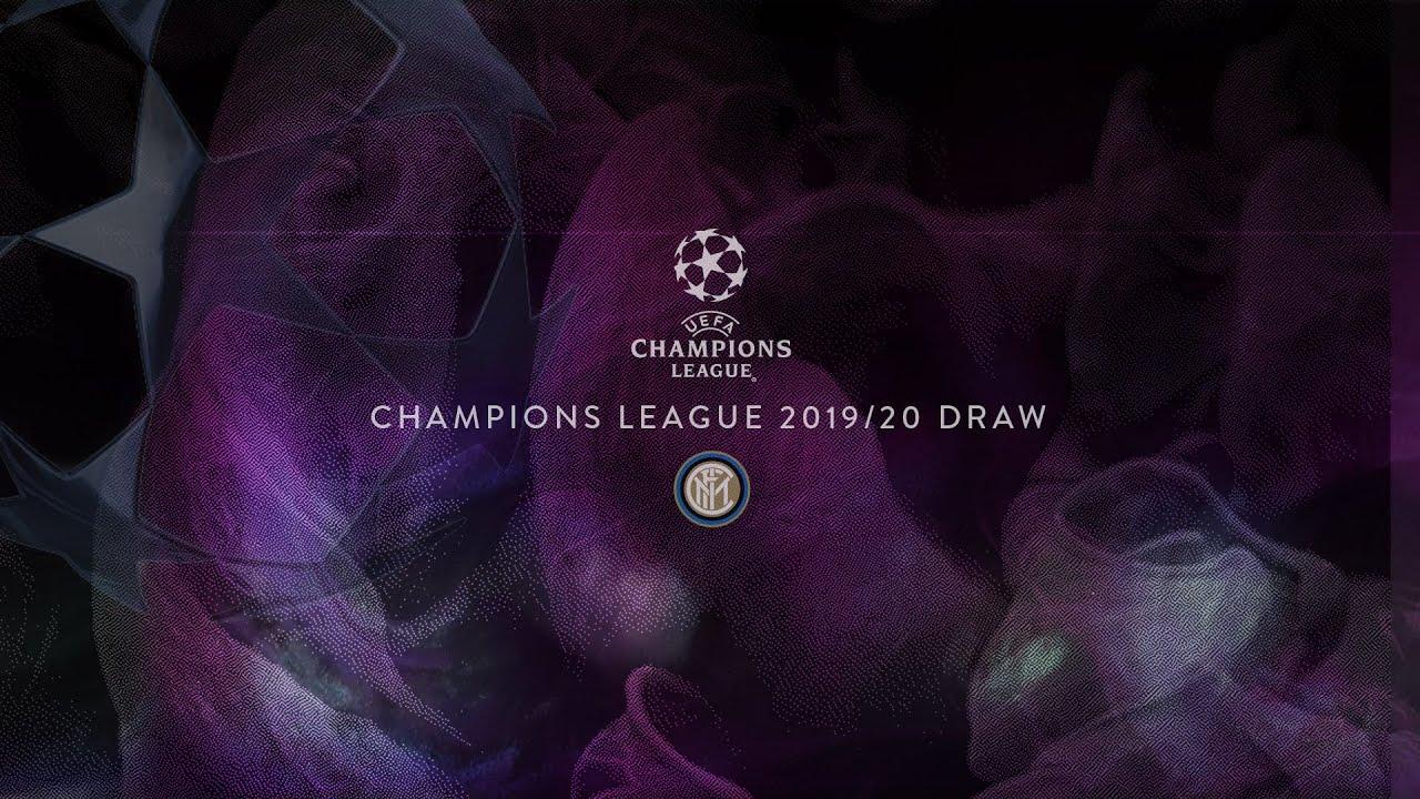 Streaming Sorteggio Champions League Inter 2019 2020 News