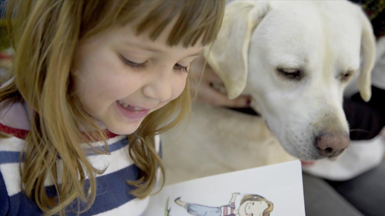 Resultado de imagen para mascotas leyendo