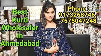 Kurti Wholesaler in Ahmedabad, India || Dhanlaxmi Fashion Hub, Phone : 9173268746, 7575047248