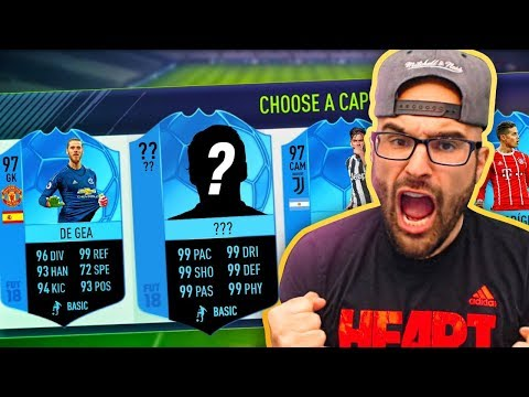 WOW! RAREST CARD IN THE DRAFT! FIFA18 Ultimate Team Draft