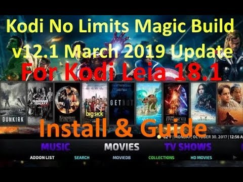 No Limits Magic Build V12 1 March 2019 Install & Guide for