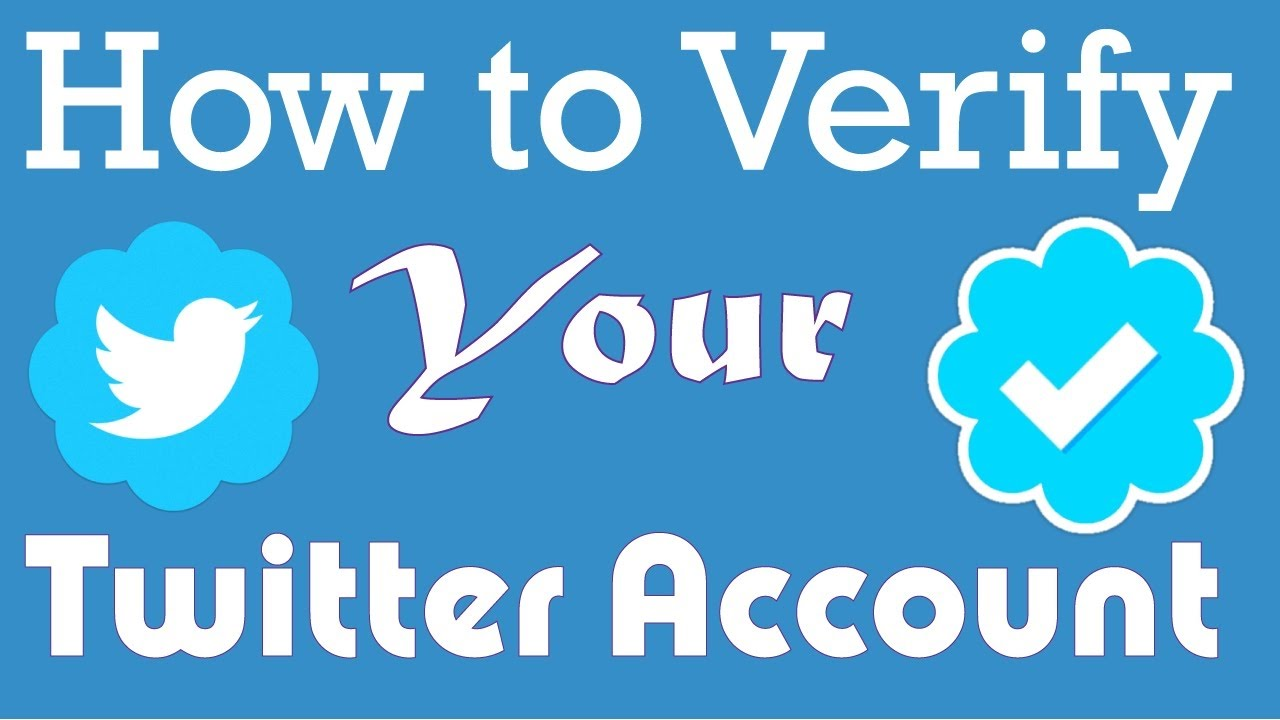 How to verify your Twitter Account | Get a blue tick on twitter