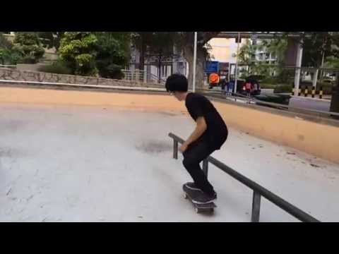 Singapore skateboarding