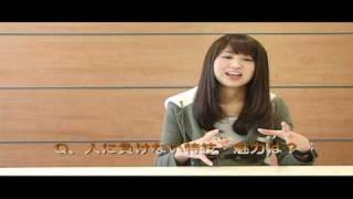 「東京俳優市場2010冬」第三話から西崎あやさんインタビュー。