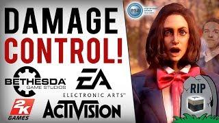 EA, Bethesda & Activision's Huge Crisis! Reckless Response To USA Loot Box Ban Bill & UK Government!