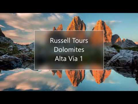 Russell Tours Self Guided Hikes in the Dolomite's Italy Alta Via 1