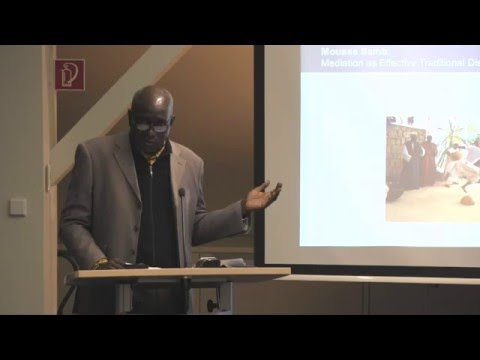 Moussa Samb: Mediation as Effective Traditional Dispute Resolution in Africa