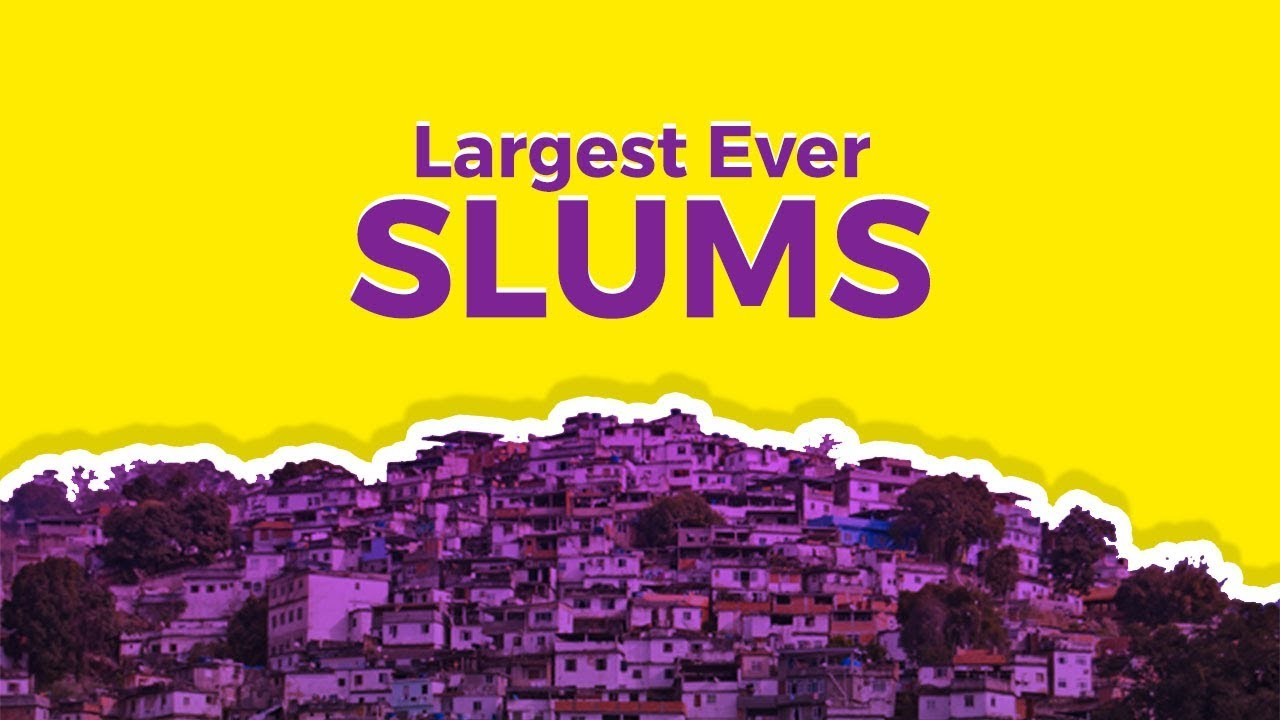 Largest Overcrowded Slums In The World YouTube - Worst poverty in the world
