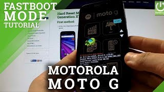 Fastboot Mode  MOTOROLA Moto G 3rd Generation - Enter and Quit Fastboot