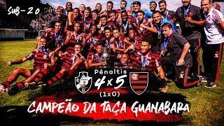 Flamengo é bicampeão da Taça Guanabara Sub-20 - Bastidores