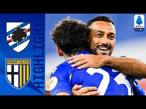 Sampdoria 3-0 Parma | La Sam vince 3-0 contro il Parma | Serie A TIM