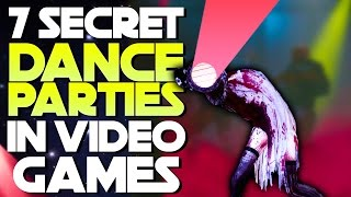 7 Secret Dance Parties Hidden In Video Games