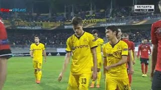 Gabala FK vs Borussia Dortmund 1-3 First Half All Goals & Highlights - October 2015