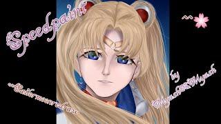 Sailor moon redraw speedpaint | Какие художники повлияли на стиль | Myash-Myash