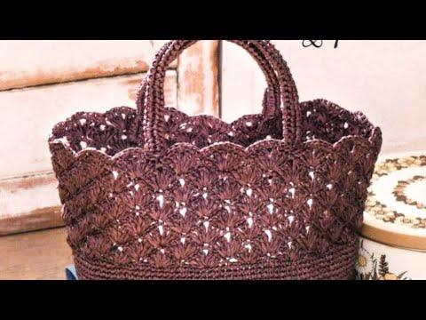 2 вязаные сумки крючком со схемами для вязания 🍉🍉🍉🍉🍉🍉🍉🍉🍉🍉