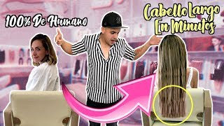 MI PRIMERA VEZ CON EXTENSIONES / #AmorEterno