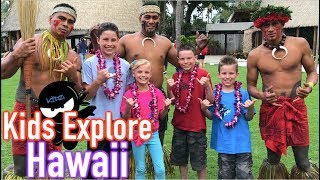 Explore Hawaii with NINJA KIDZ TV!