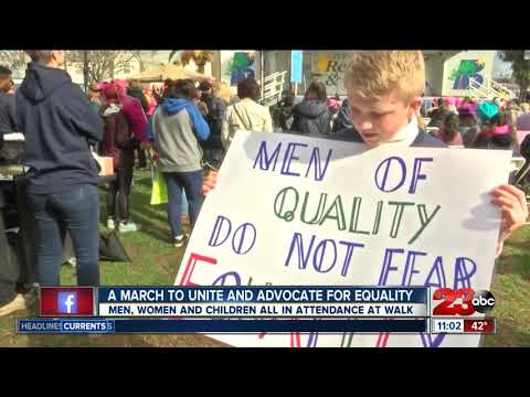 Everyone welcomed at the Women's March Kern County