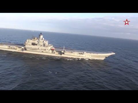 Russian carrier Admiral Kuznetsov Part 3 - «Адмирал Кузнецов» Часть 3-я