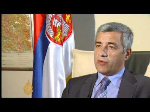 Tensions linger along Kosovo border
