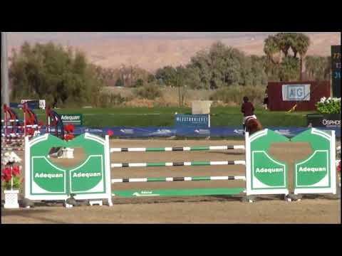 Vancouver 45 and Michelle Parker - $70,000 Grand Prix Round 1 - HITS Coachella week 1 2018