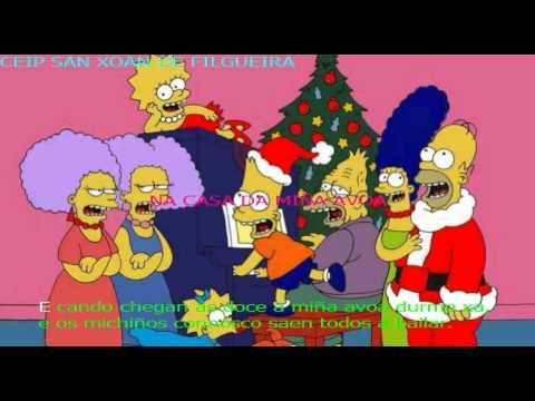 KARAOKE Canción de Nadal: Na casa da miña avoa. CEIP SAN XOÁN DE FILGUEIRA. Nadal 2011