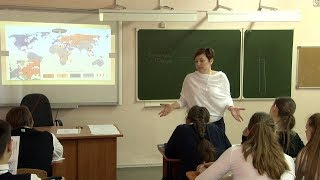 Урок истории. 9 класс. Внешняя политика Хрущёва. Н.В. Пинтилей