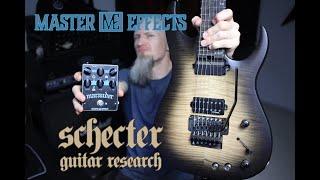 Gord Olson - Master Effects Marauder, Schecter Banshee Mach 7 Demo