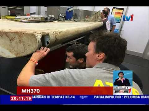 MH370- UJIAN TERHADAP 4 SERPIHAN DIKETAHUI DALAM 4 BULAN [18 SEPT 2016]
