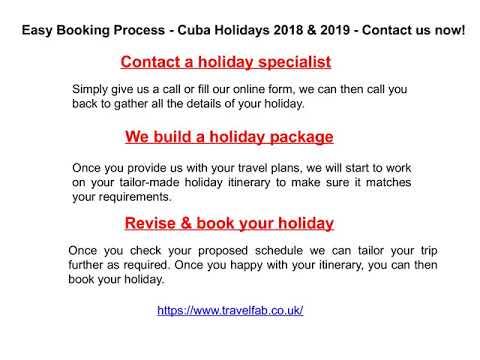 Cuba Holidays 2018 Cuba Tours Cuba Holiday Deals