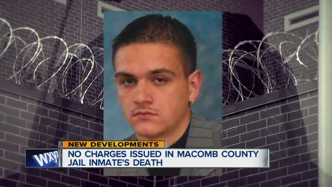 No charges in Macomb County Jail inmate's death