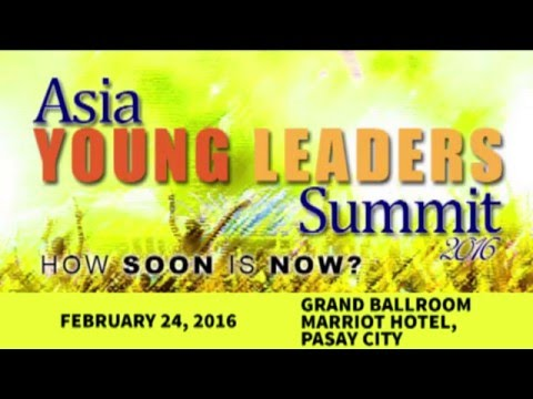 Bea Lim - Asia Young Leader's Summit 2016
